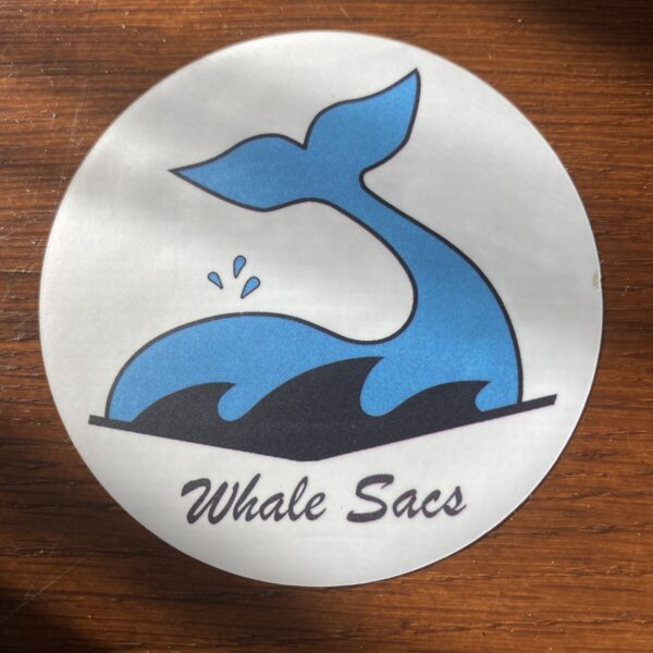 Whale Sacs Sticker