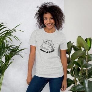 Whale Sac rocket whale unisex tee t-shirt tshirt apparel disc golf discgolf