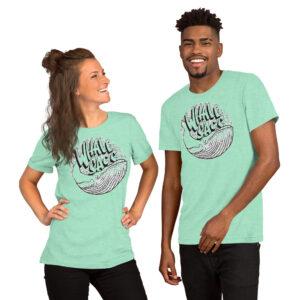 Whale Sac bubbles unisex v-neck tee t-shirt tshirt apparel disc golf discgolf