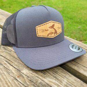 Grey Curvebill Hat Whale sacs
