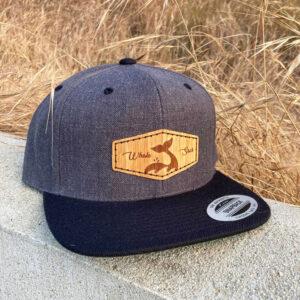 Bamboo Flatbill Grey Whale sacs Hat