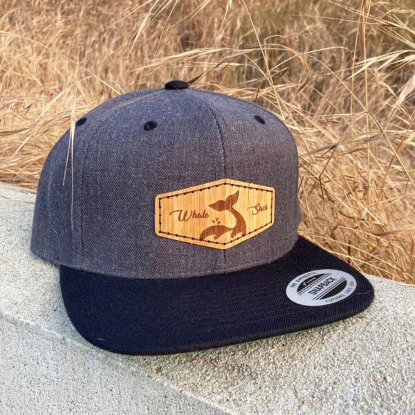 Bamboo Flatbill Grey Whale sacs Hat flatbill snapback
