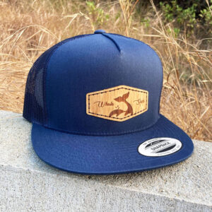 Bamboo Navy Whale sacs Hat