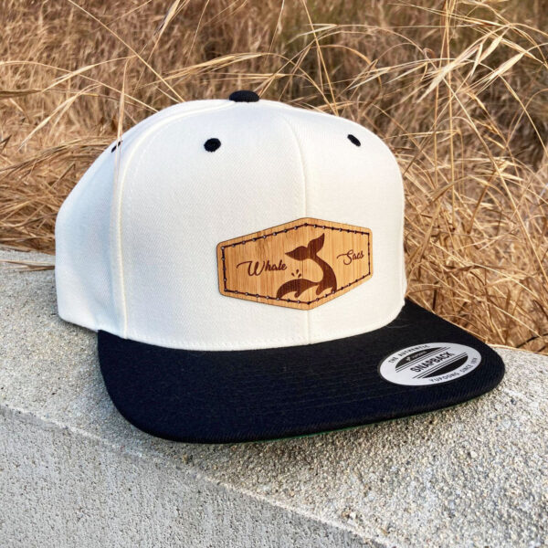 Bamboo White Whale sacs Hat