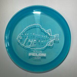 Whale sacs fish felon lucid x roscoe disc golf discgolf
