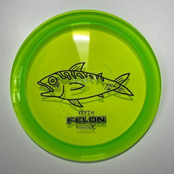 Whale sacs fish felon lucid x kefin disc golf discgolf