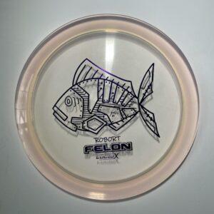 Whale sacs fish felon lucid x robort disc golf discgolf