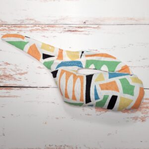 Whale Sac abstract shapes clay dry hand bag disc golf discgolf